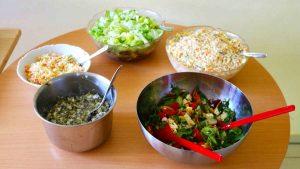 Salate Buffet polnische Küche
